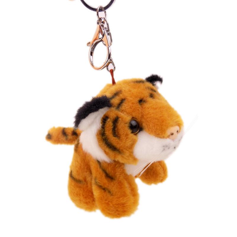 Orange Keychain Stuffed Animal