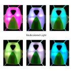 Vest USB Rechargeable VizyVest Chest Lamp Illuminated Reflective Nite Vest LED Running Vest