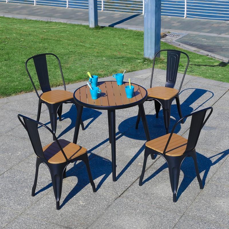 Лидер продаж, уличная садовая Обеденная Мебель для ресторана, стол для патио и Набор стульев