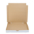 Custom mixed color rectangular corrugated cardboard folding pizza box