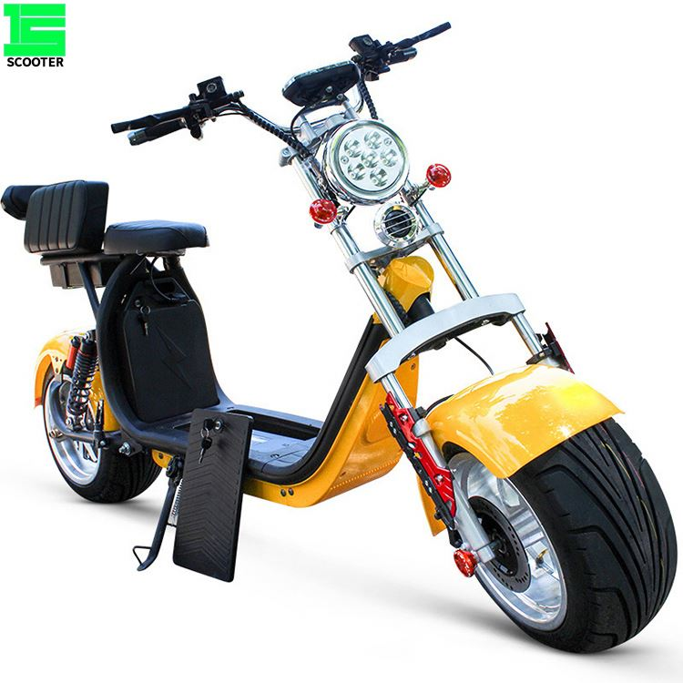 Manufacture Max Speed 75KM/H 3000W Adults Electric Motorcycle Chopper Scooter for sale