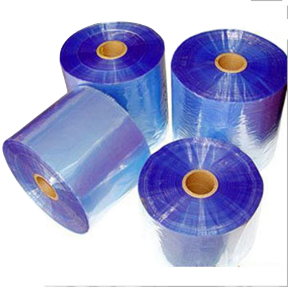 0.10mm Normal Clear Plastic Soft PVC Transparent Film in Roll for Bags