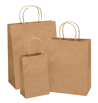 China Manufacturer Wholesale Custom Logo Brown Craft Packaging Gift Recycle Bag Kraft Paper Shopping Bags with Handles
