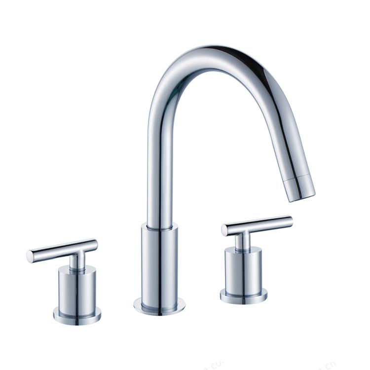 Contemporary Water Saving UPC Chrome Lavatory Bathroom Basin Faucet