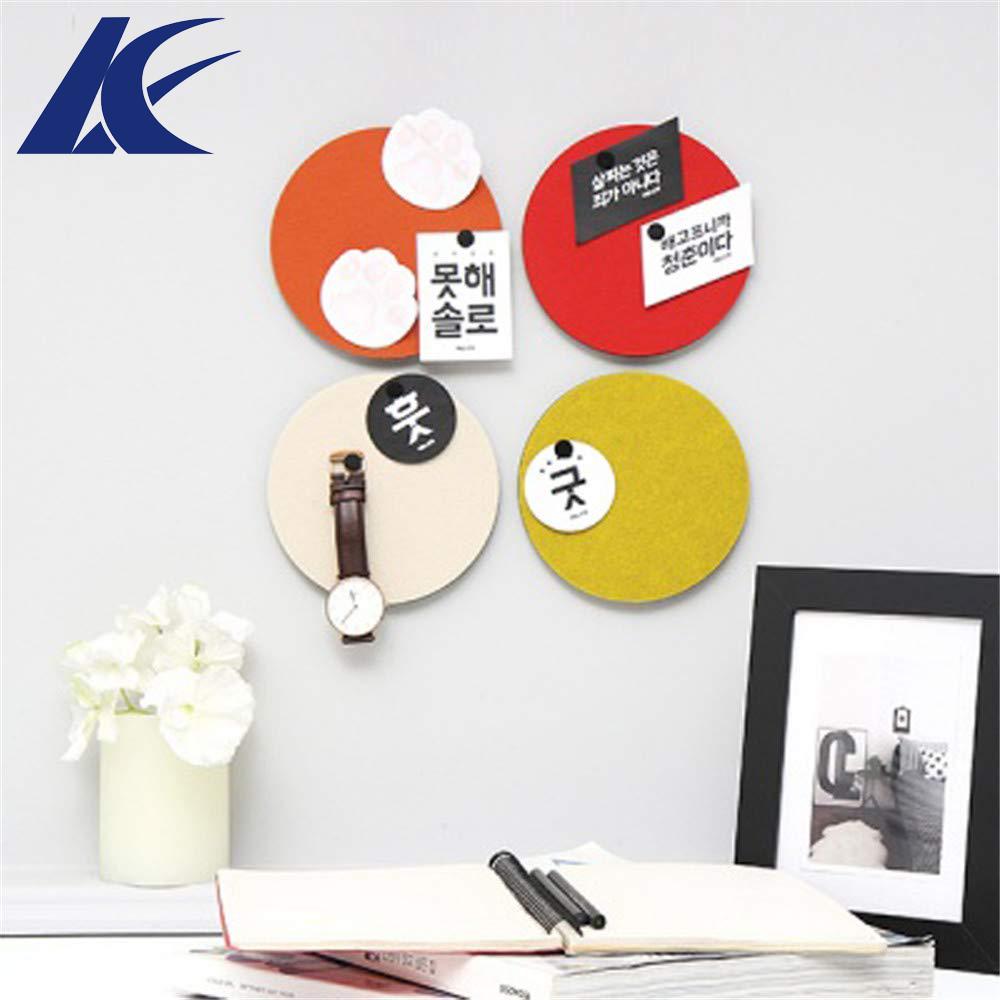 Шестигранная фетровая самоклеящаяся доска-булавка, булавки для фотографий, пробковые доски, декоративные стены из красочной пены