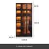 3 door + side cabinet
