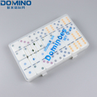 Dominoes Set Board Game Toy Double 6 Dominoes Set For Education