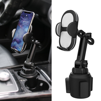 2020 Amazon Universal 360 Degree Rotating Long Arm Car Mount Cup Cell Phone Holder Gooseneck Mobile Phone Car Holder