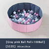 Gray Pink Ball Poll+100 Ball