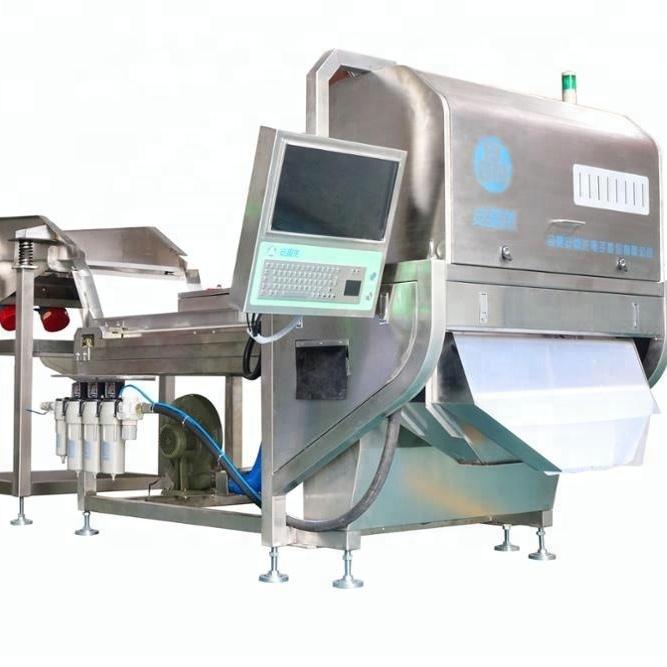 Angelon оптическая очищенная чесночная сортировочная машина