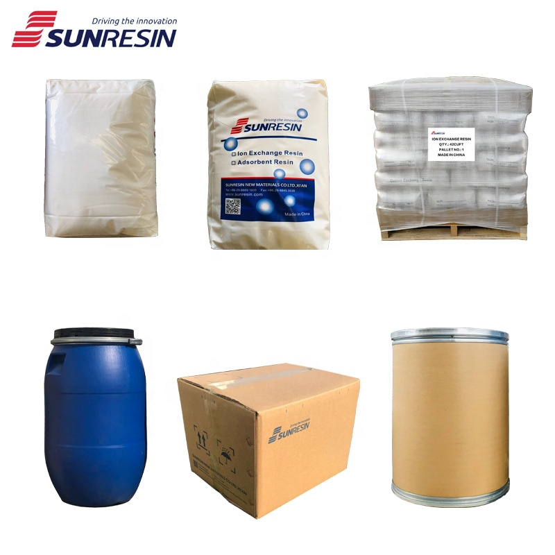 Dowex HCR-S/S equivalent softener resin water softening cation ion exchange resin