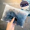 50pcs navy blue