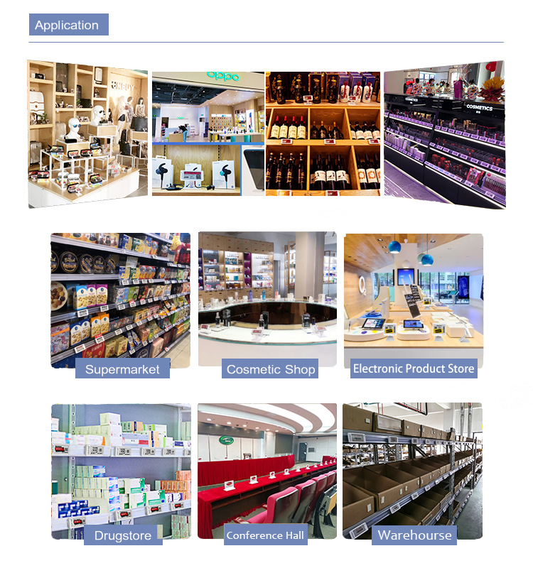 MINEW price tag bluetooth eink epaper display warehouse goods pick-up smart labels
