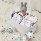 Baby Baby Diaper Caddy Portable Baby Cotton Rope Nursery Storage Bin Diaper Chaniging Caddy