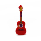 Drive Pen 16g Pen Drive 16g Stock Product Customer PVC Flash Drive Guitar Shape Usb Stick Pen Drive 4G 8G 16G