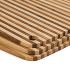 Piece Bamboo Bamboo Organic Bamboo Board Organic End Set Of 3 Piece Vertical Grain Bamboo Cutting Board With Hole