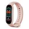 Pink M6 Smart Watch