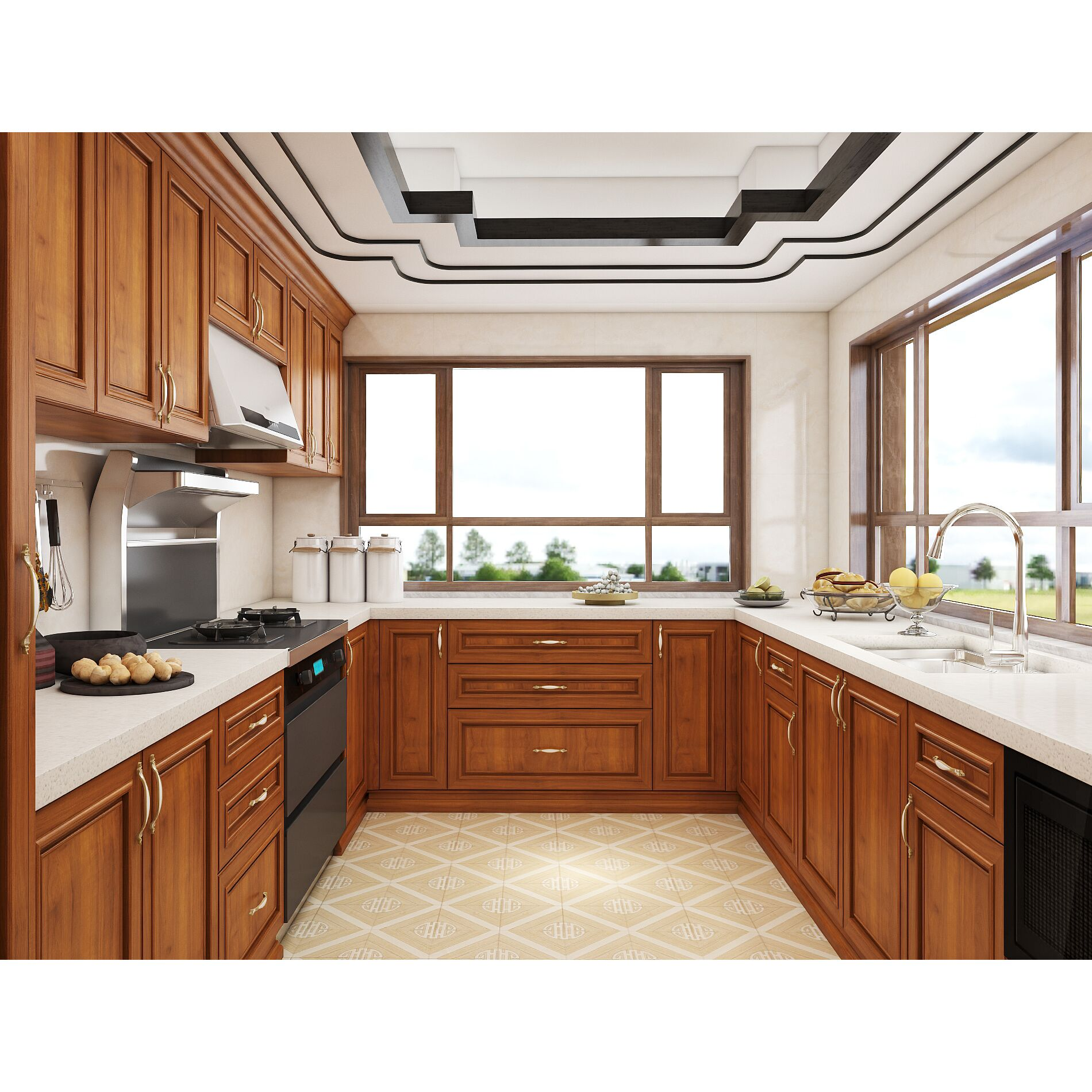 Customized Kitchen Pantry Solid Wood Shaker Style Kitchen Cabinet Buy Shaker Style Kitchen Cabinet Solid Wood Kitchen Cabinet Customized Kitchen Pantry Product On Alibaba Com