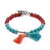 red agate,Turquoise