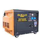 Portable home use standby power 5kw 6kw diesel generator set