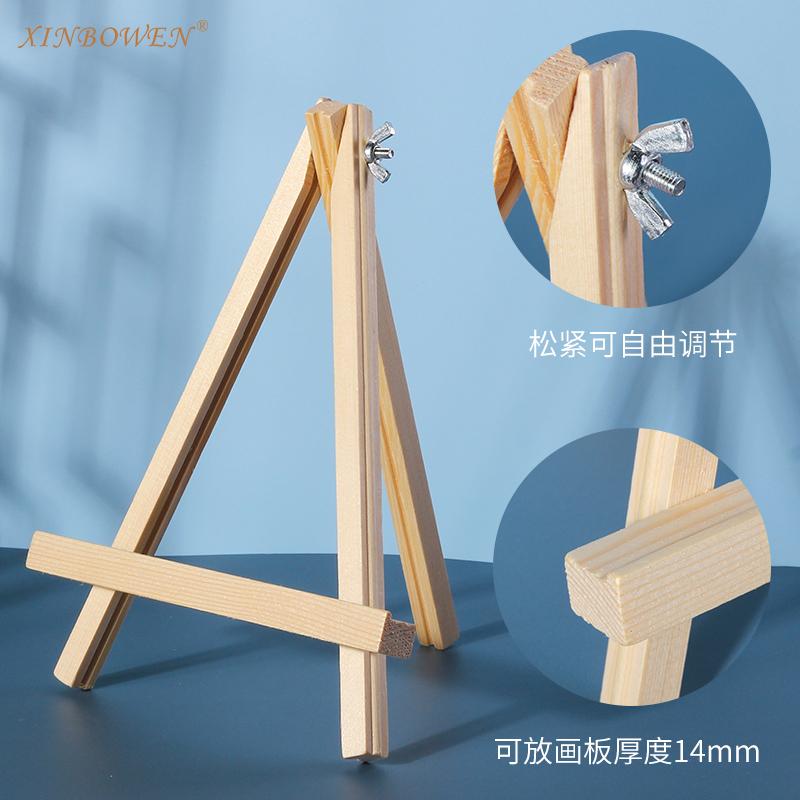 Xin Bowen Mini Desktop Easels Desktop Sketch Sketching Small Oil Pain ting Frame Wooden Easel For Children