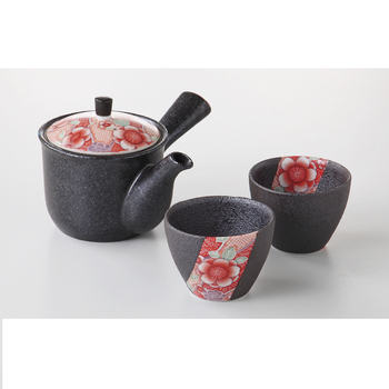 Japanese delicate traditional ceramic tea sets with teapot for afternoon tea and family use