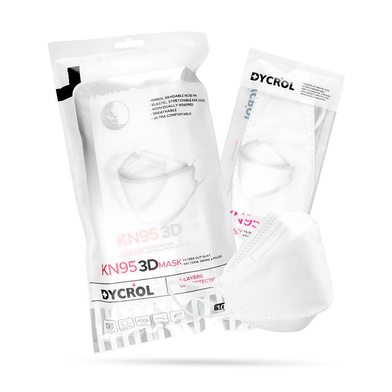 disposable 3D KN95 half face skin-friendly mask - KingCare | KingCare.net