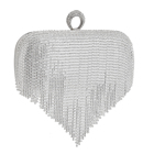 Evening Crystal Bag Clutch Wholesale Heart Shape Evening Crystal Bag Shining Crystal Stone Ring Evening Bag Clutch