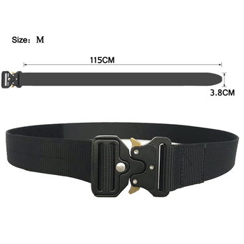 OEM Nylon Waist Belt Quick Release Webbing Riggers Heavy Duty Outdoor Military Tactical Belt