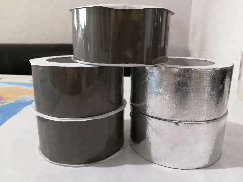 10cm width aluminum foil cover butyl rubber adhesive tape