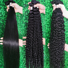 Virgin Raw Hair Hair Vendors Wholesale Free Sample Mink Natural Raw Virgin Brazilian Cuticle Aligned Hair Bundles Human Hair Extension