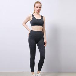 Оптовая продажа, индивидуальный логотип, тонкий костюм для йоги, Высокоэластичный Быстросохнущий сексуальный дышащий комплект для йоги