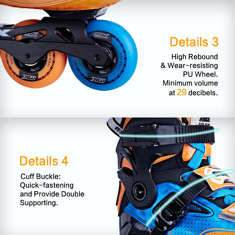 MX S550 Лидер продаж 3 в 1 регулируемые коньки в спортивной обуви
