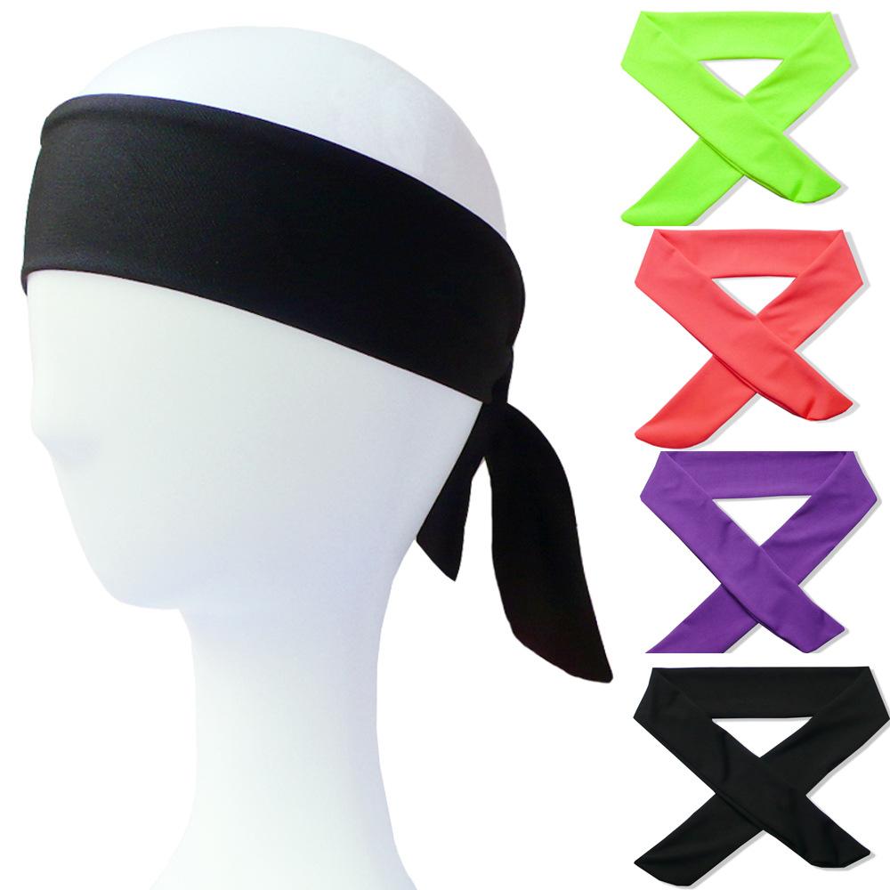 Повязка на голову для мужчин и женщин, мягкая хлопковая спортивная повязка с пиратским принтом, 14 цветов, для спортивного зала, футбола, баскетбола