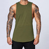 Army Green Men Tank Top for GYM
