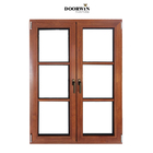 outward opening modern design french wooden french window uk polygon hinge wood 3 pane casement windows