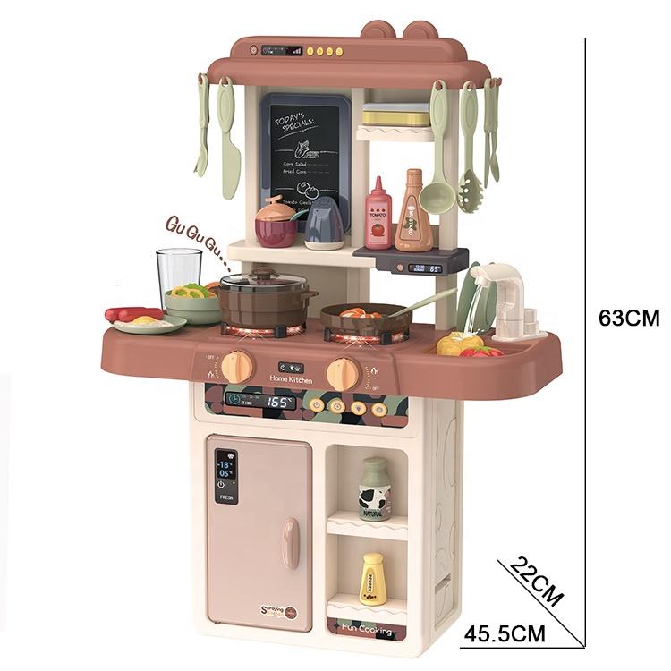 Забавный образовательный Дошкольный набор для ролевых игр 63 см 36 шт. кухонный набор игрушечный водяной стол