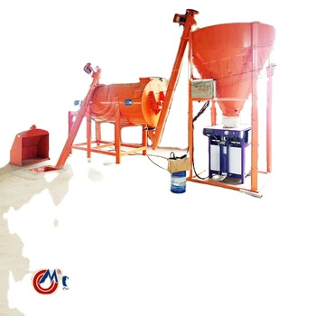 Automatic dry mix mortar 5-8t/h ceramic tile adhesive mixing machine