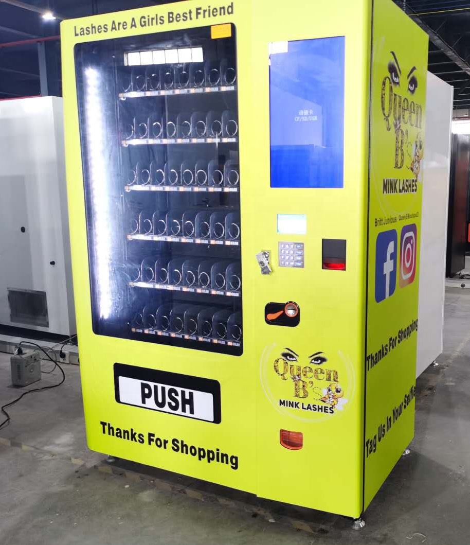 Custom design Hair Bundles Wigs Vending Machine