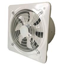 Промышленная вентиляционная вытяжка, металлический осевой вытяжной коммерческий воздушный вентилятор, низкий уровень шума, стабильная ра...(Китай)