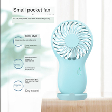 Ventilateur usb Rechargeable de bureau led