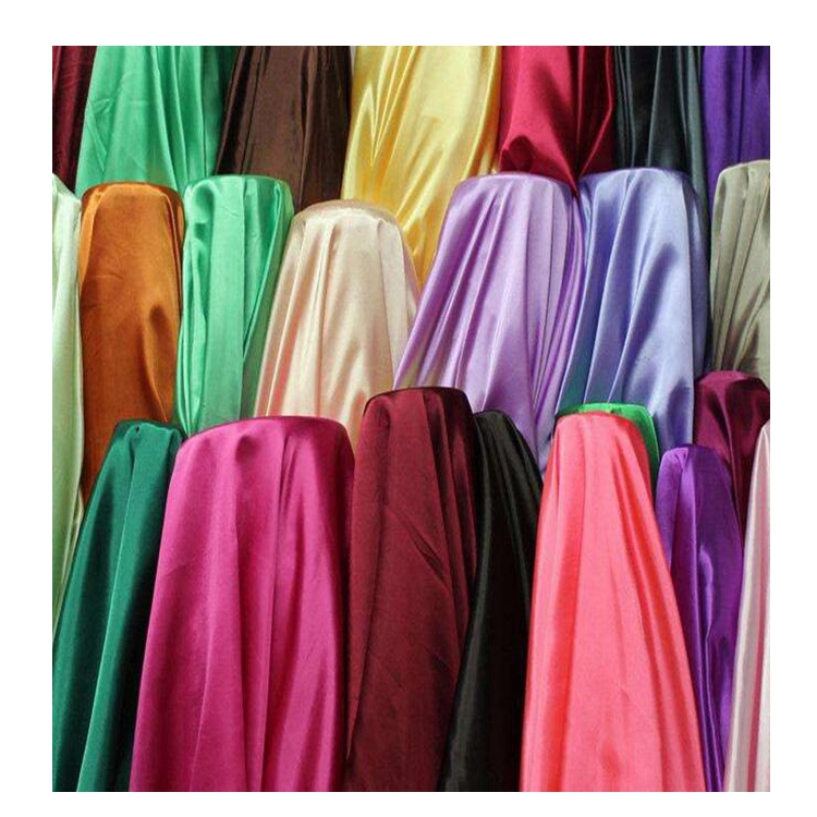 Digital Printed Satin Fabric Wholesale Floral Polyester Fabric Stretch Satin Fabric