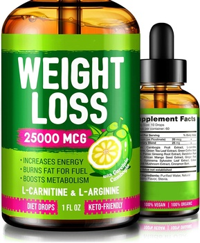 Wholesale Price Keto Diet Drops for Weight Loss Keto Supplement Premium Fat Burner Formula 60ML