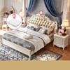 (1.8m B Tempat Tidur meja + kasur)-LS02ZH28HB017