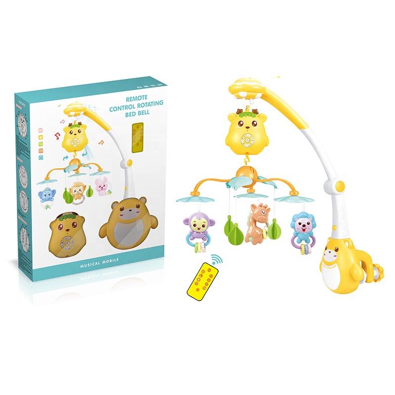 Мобиль для детской кроватки, детские погремушки, музыкальные игрушки