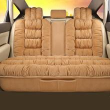 Чехлы для автомобильных сидений, Плюшевые Чехлы для автомобильных сидений, внутренняя теплая подушка для сидений на зиму, защитный чехол, к...(Китай)