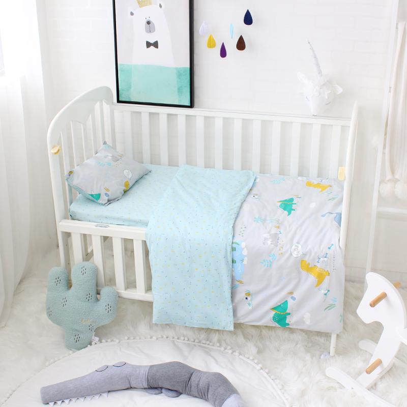 Pcs Newborn Babi Boy Crib Fabric Set