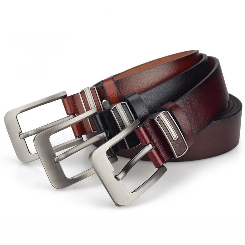 Man belt genuine leather fashion belt,high quality men gentleman fashion belts 2020