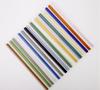 Color straws straight type