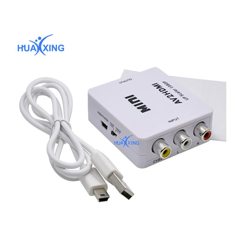 HDMI to Video Audio Converter Mini Box for TV/PC/DVD